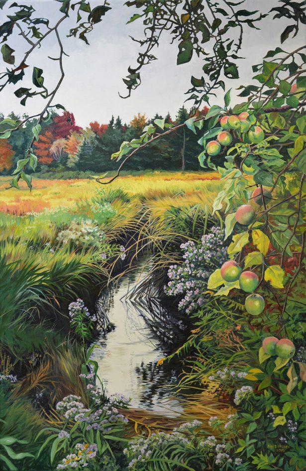 Farewell Summer - oil on canvas